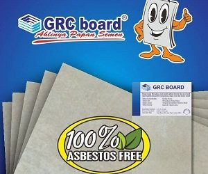 Jual Papan Semen GRC Board di Medan